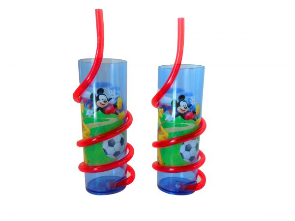 Mickey Mouse Tumbler with Silly Straw