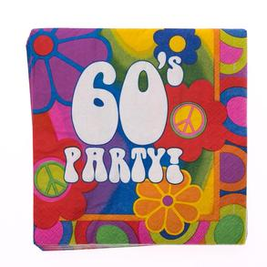 60s lunch napkins