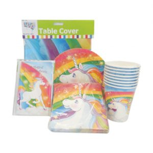 Unicorn Rainbow Party Kit